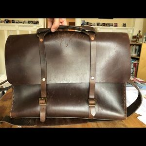 Satchel & Page Leather Briefcase